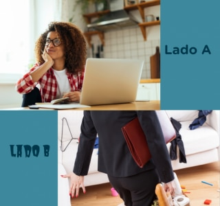 Lado B do home office