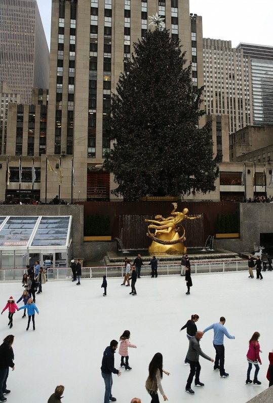Rockefeller Center, em Nova York (AFP)